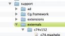 c74externalspath