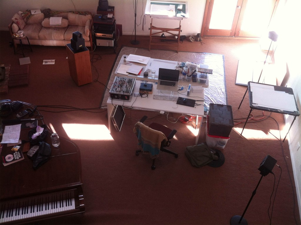 Jackie's Studio At Djerassi Artist Residency