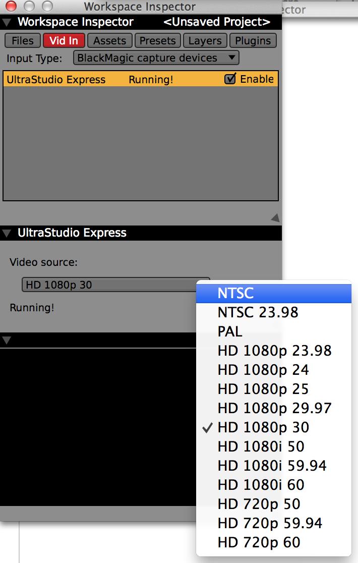 grabbing 1080p/29 97 on Mac - impossible?? - Jitter Forum