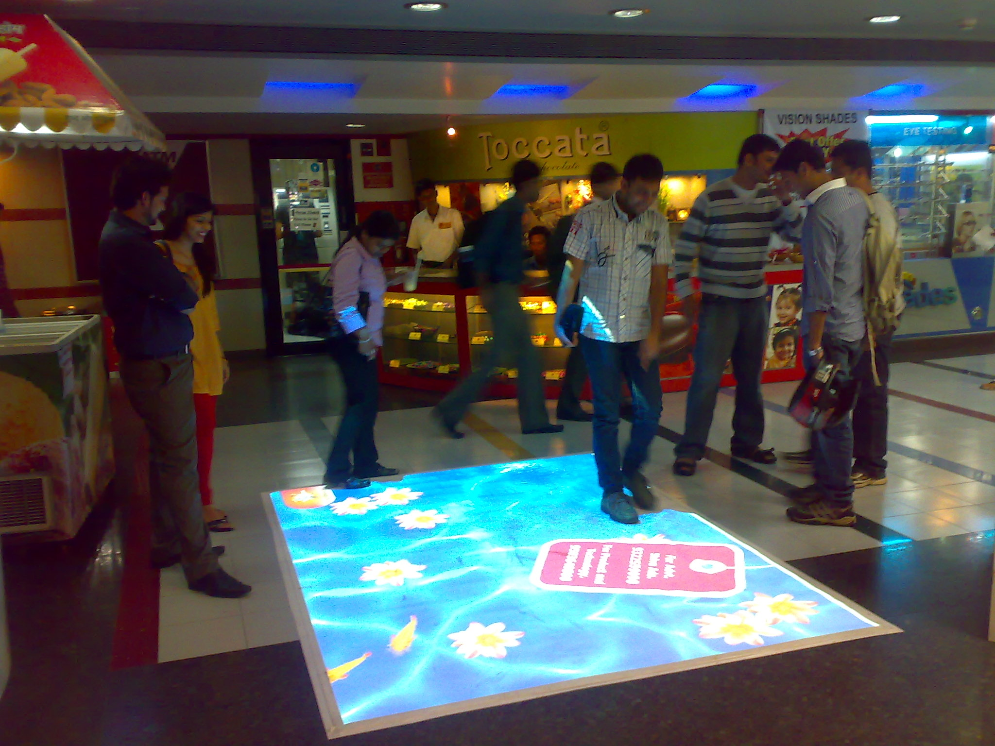 interactive floor (anyone made one?) - maxmsp forum | cycling '74