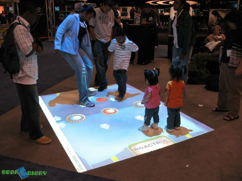 interactive projection Interactive floor projection from fastsigns® can captivate attendees at an event or grab attention in a busy retail environment.