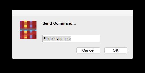 Object like Dialog but more like Javascript's Confirm box