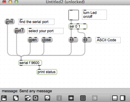 simple serial Max to Arduino discussion - MaxMSP Forum | Cycling '74