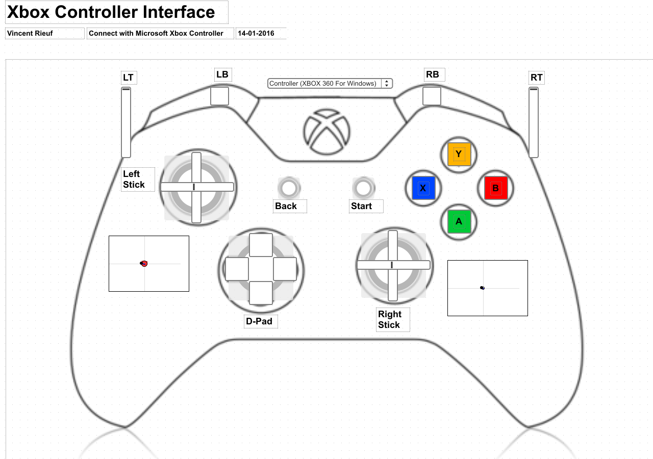 Tool Xbox Controller Interface Cycling 74