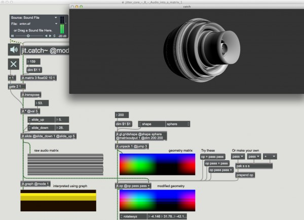 Article: New Video and Graphics Tutorials in Max 7 | Cycling '74