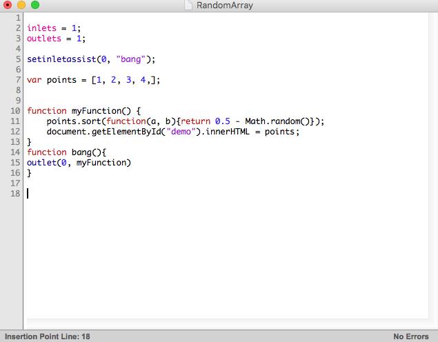 Ammco bus : Javascript random number in array