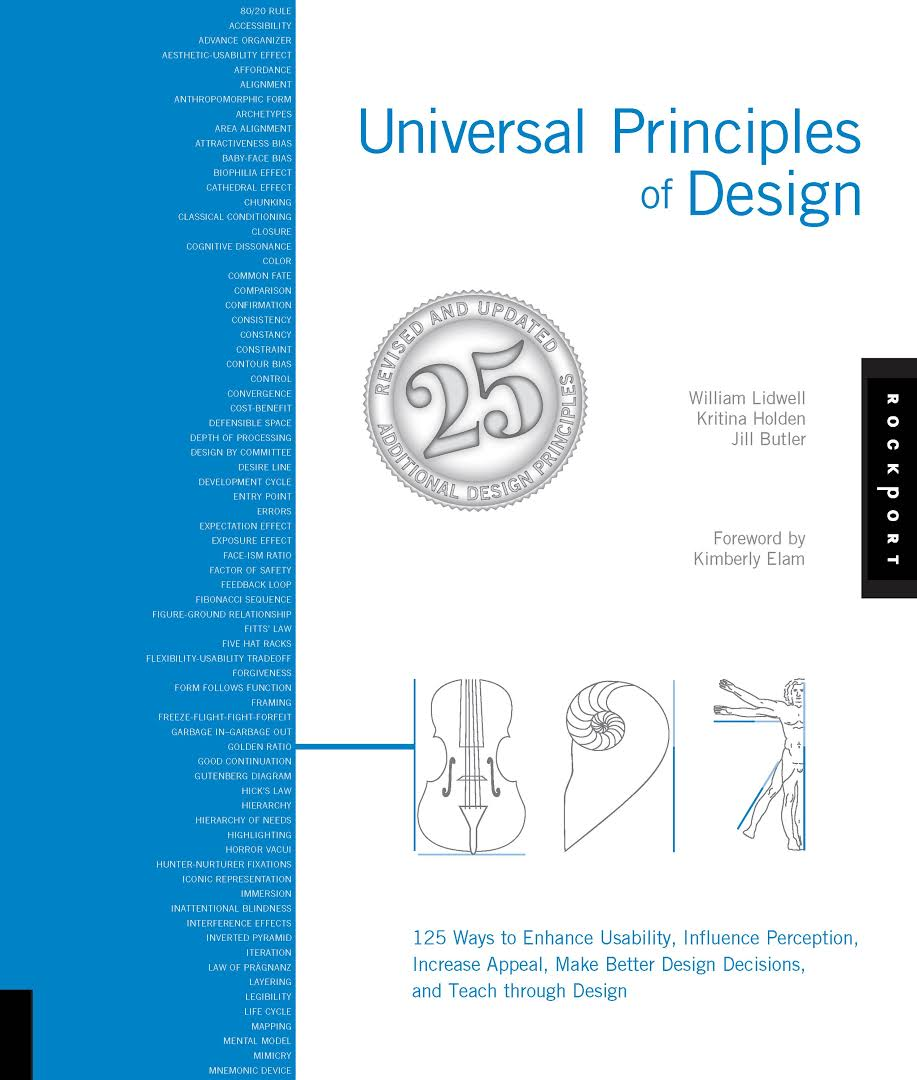 book review universal principles of design